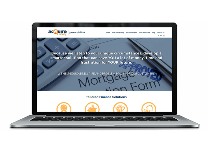 mortgage broker web design