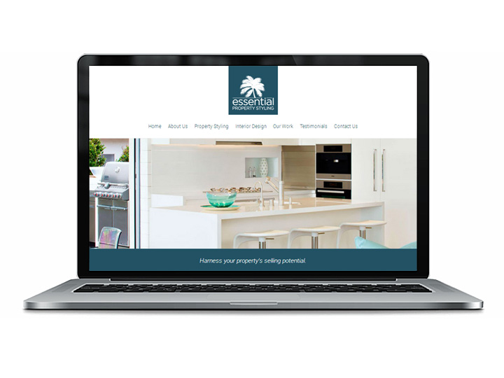 web design for property stylist