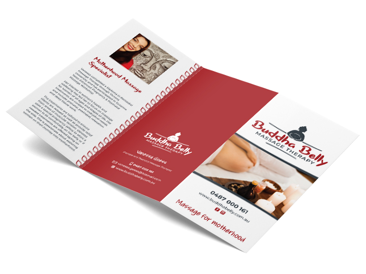 DL Brochure for Adelaide Massage Therapist