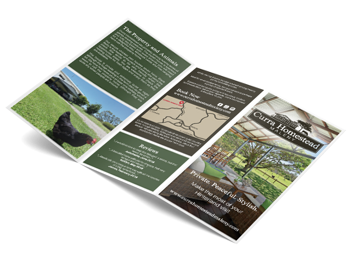 Brochure for Maleny B&B