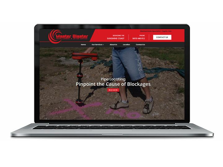 Sunshine Coast drain cleaning web design