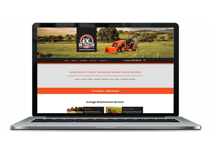lawn mowing website