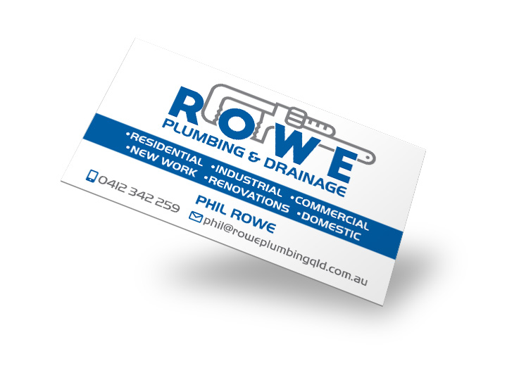 Eumundi Plumbers Business Cards