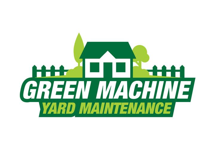 Gardening Mowing Logo