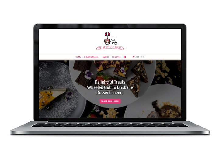 Bulimba Catering Web Design