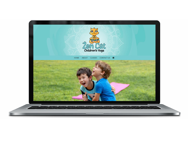 Kids Yoga Sunshine Coast Web Design